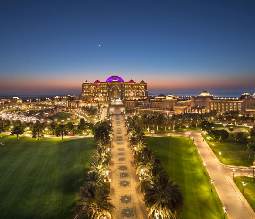 Emirates Palace (Dubai utazások)