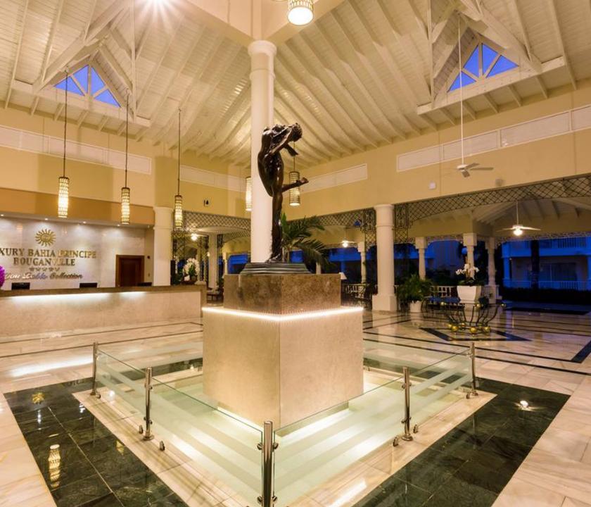 Bahia Principe Luxury Bouganville - recepció (Dominikai utazások)