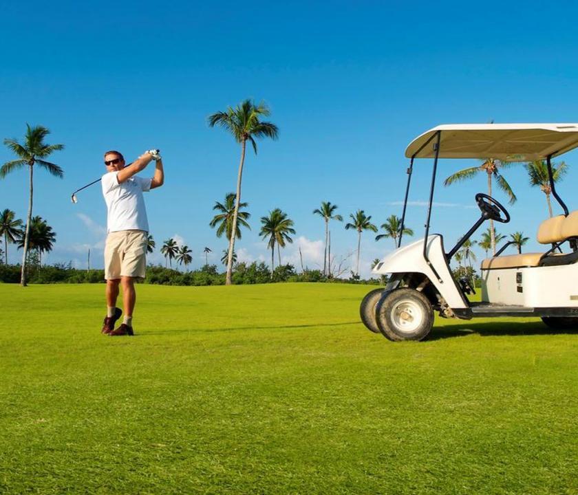 Bahia Principe Luxury Bouganville - golfozási lehetőség (Dominikai utazások)