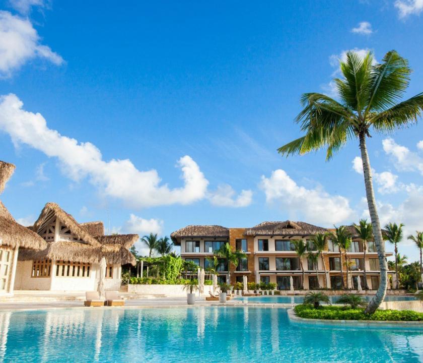 Eden Roc at Cap Cana - a hotel kivülről (Dominikai utazások)