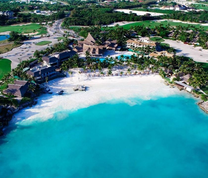 Eden Roc at Cap Cana - a hotel felülről (Dominikai utazások)