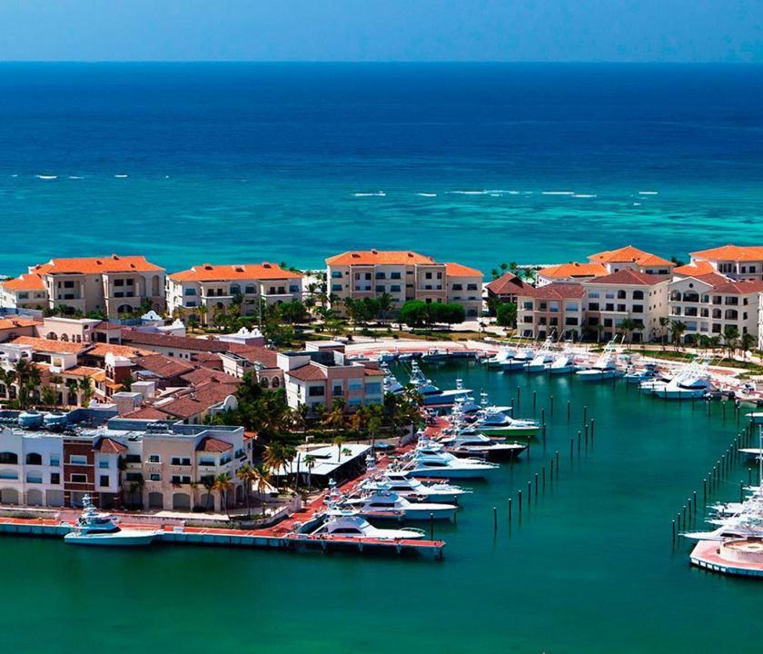 Eden Roc at Cap Cana - kikötő (Dominikai utazások)