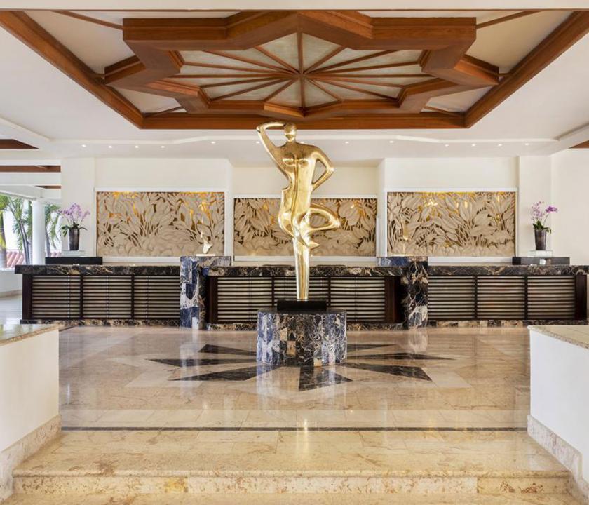Paradisus Palma Real Golf & Spa Resort - recepció (Dominikai utazások)