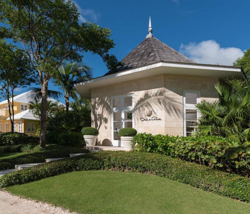 Tortuga Bay Puntacana Resort & Club - bejárat (Dominikai utazások)