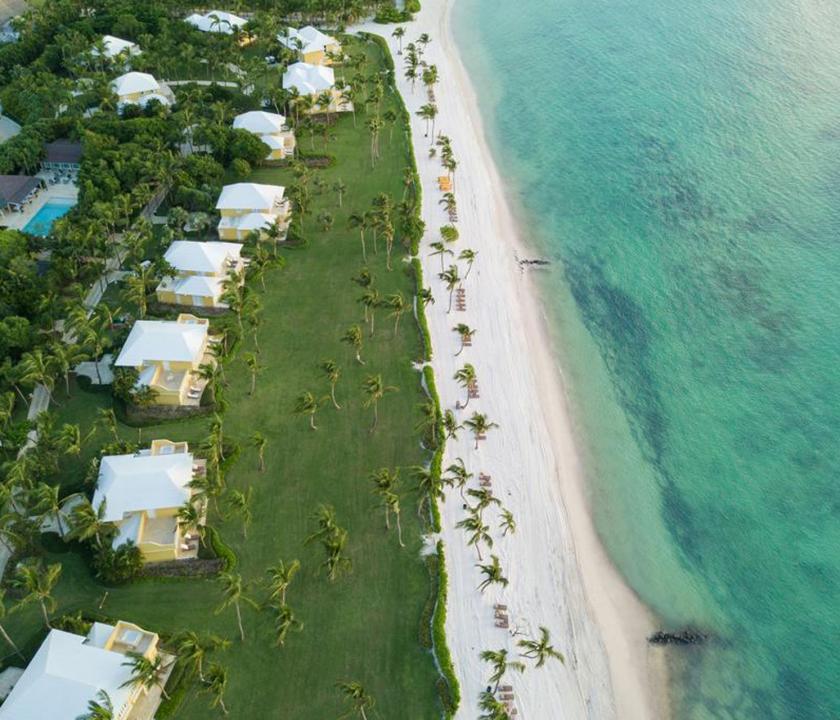 Tortuga Bay Puntacana Resort & Club - a hotel felülről (Dominikai utazások)