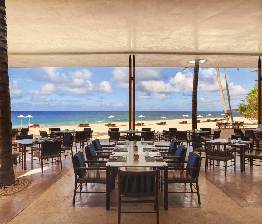Amanera - étterem a teraszon (Dominikai utazások)