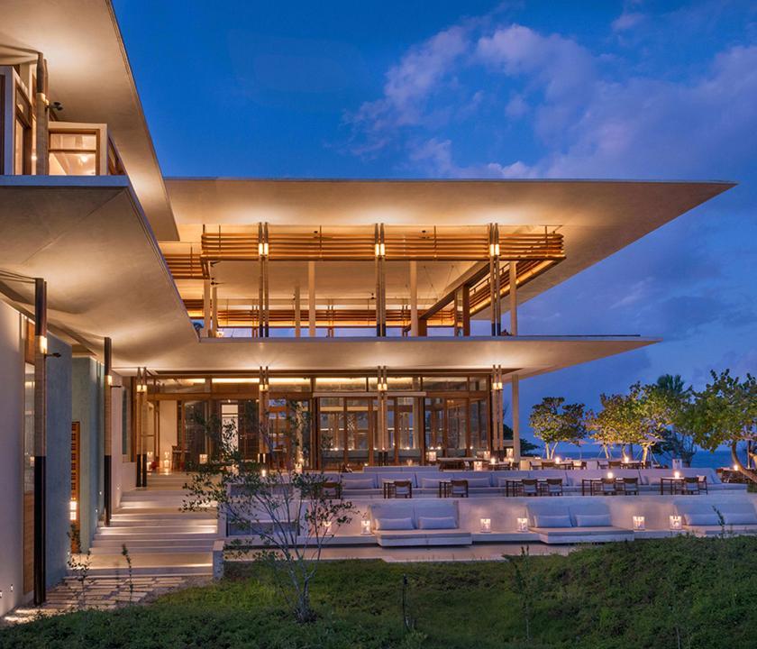 Amanera - a hotel kivülről (Dominikai utazások)