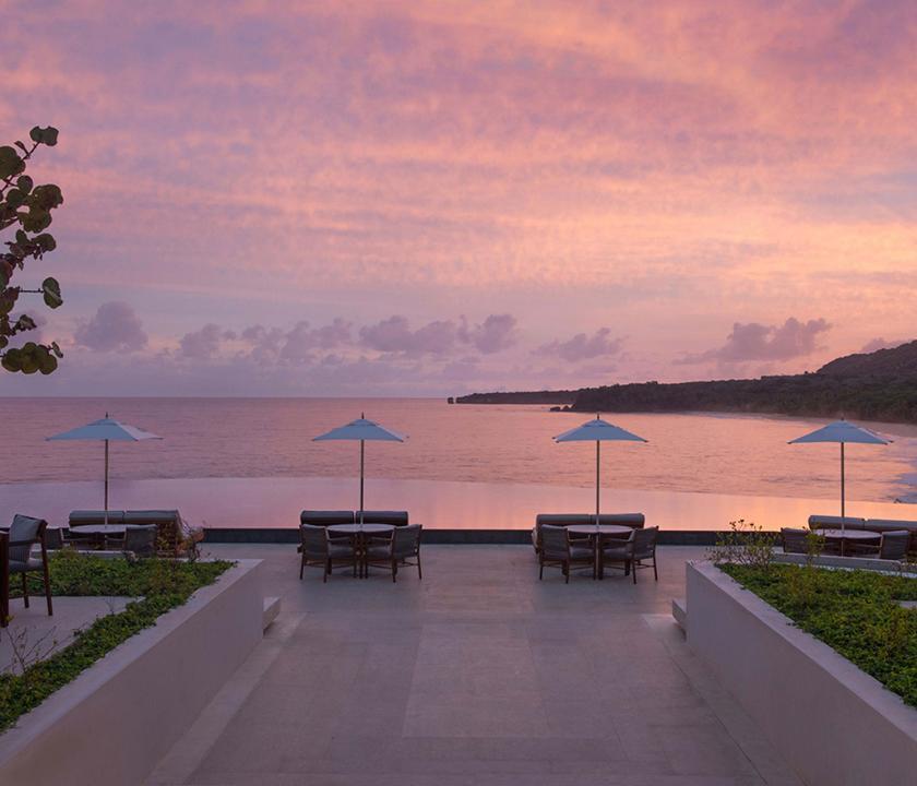 Amanera - terasz (Dominikai utazások)