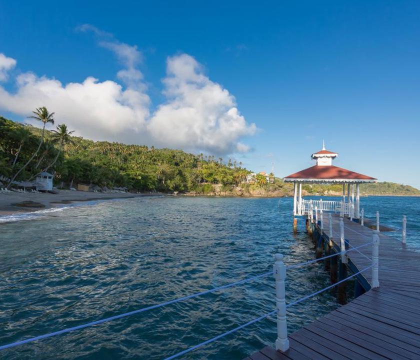 Luxury Bahia Principe Cayo Levantado - móló (Dominikai utazások)