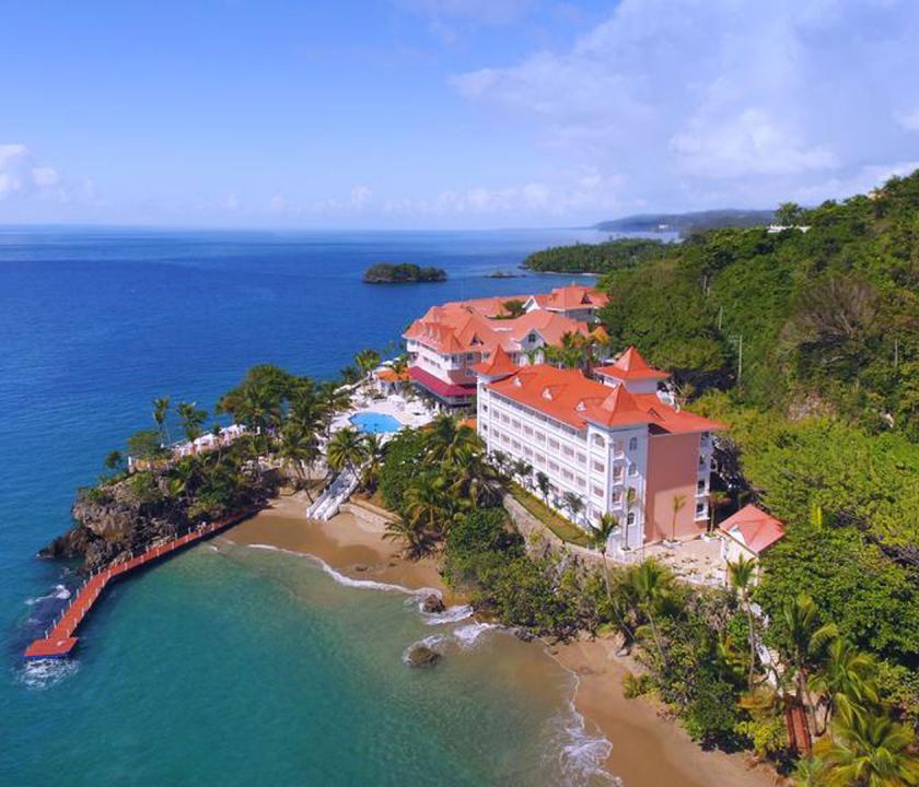 Luxury Bahia Principe Samana - a hotel felülről (Dominikai utazások)