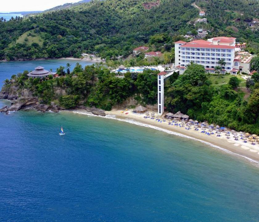 Grand Bahia Principe Cayacoa - a hotel felülről (Dominikai utazások)