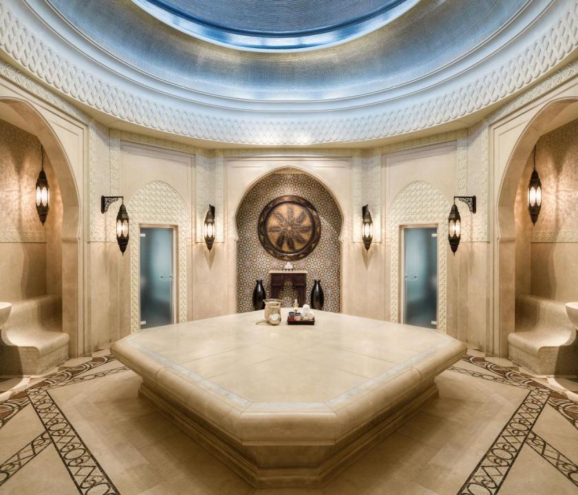Emirates Palace - fürdőház (Dubai utazások)