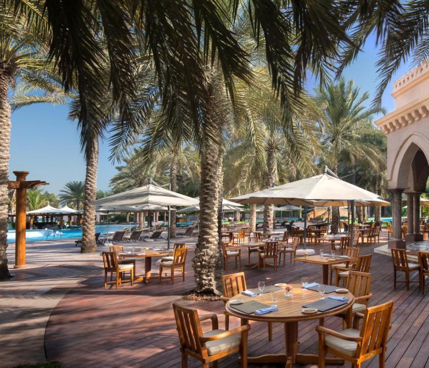 Emirates Palace - Las Brisas étterem (Dubai utazások)