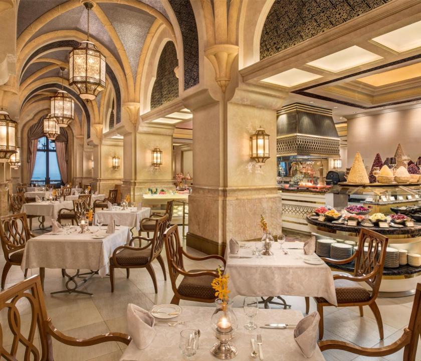 Emirates Palace - Le Vendome étterem (Dubai utazások)