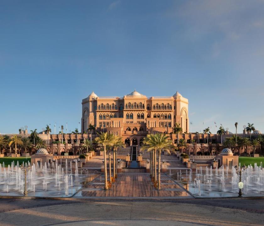 Emirates Palace - látkép (Dubai utazások)