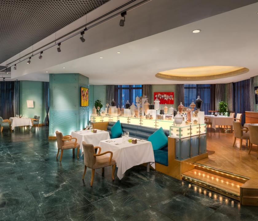 Emirates Palace - Sayad étterem (Dubai utazások)
