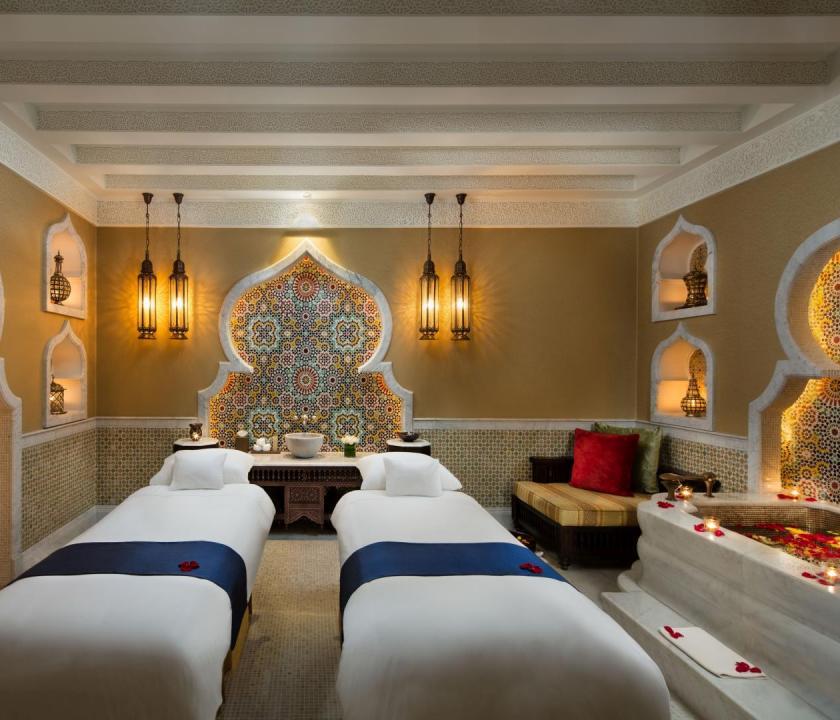 Emirates Palace - wellness (Dubai utazások)