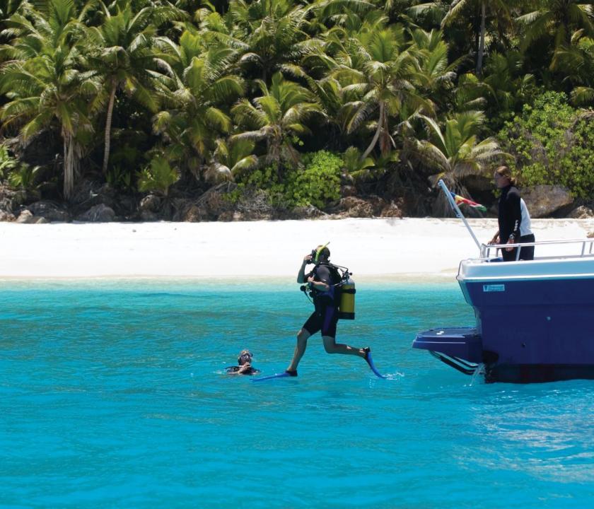 Fregate Island Private - búvárkodás (Seychelle szigeteki utazások)