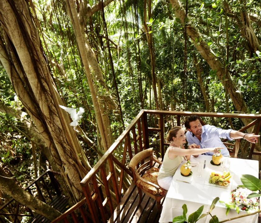 Fregate Island Private - étkezés (Seychelle szigeteki utazások)