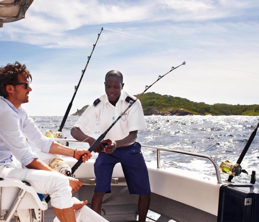 Fregate Island Private - horgászat (Seychelle szigeteki utazások)