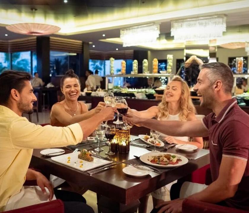 JA Beach Hotel - Ibn Majed étterem (Dubai utazások)
