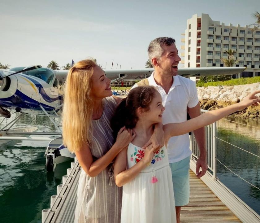 JA Beach Hotel - szálloda oldalról (Dubai utazások)