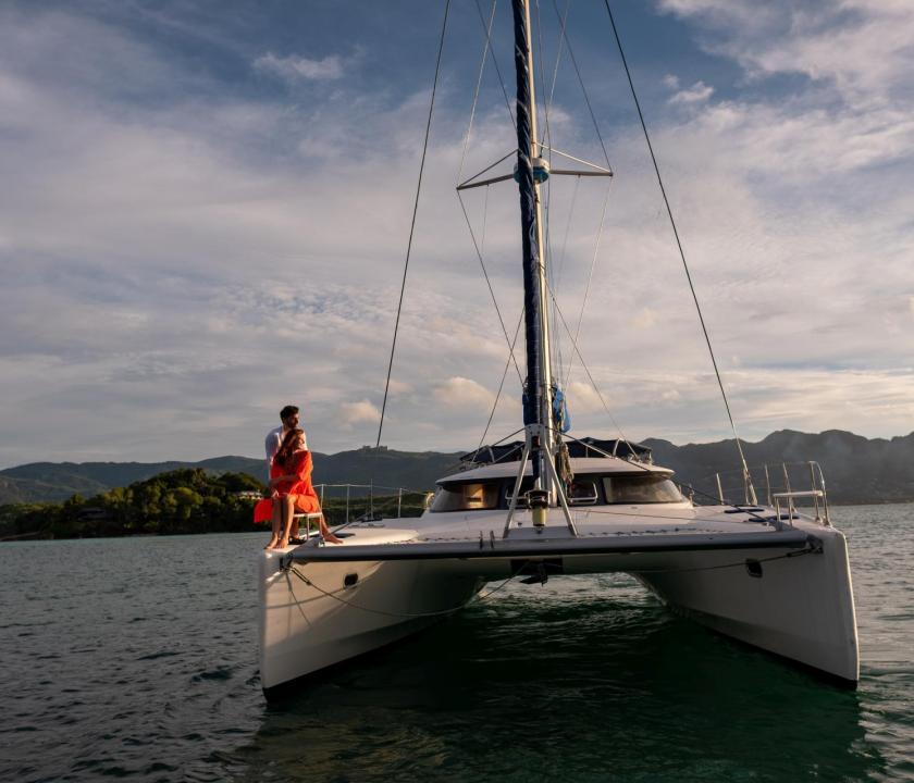 JA Enchanted Island Resort - hajózás (Seychelle szigeteki utazások)