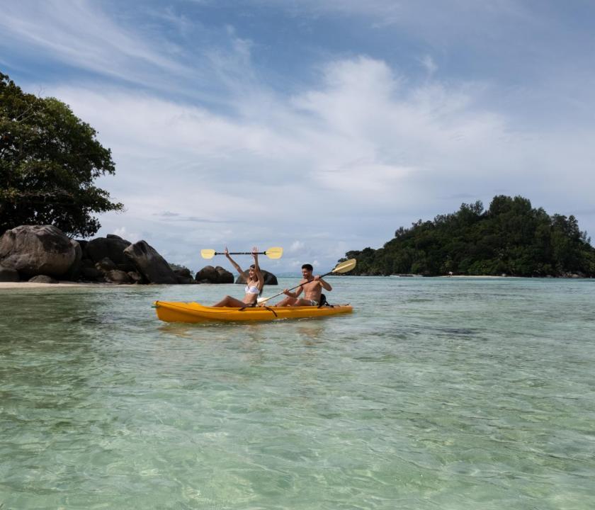 JA Enchanted Island Resort - vízisport (Seychelle szigeteki utazások)