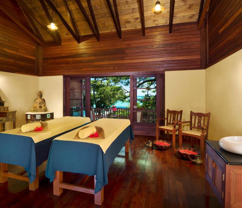 JA Enchanted Island Resort - wellness (Seychelle szigeteki utazások)