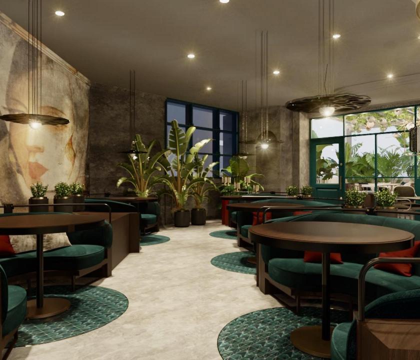JA Ocean View Hotel - bár (Dubai utazások)