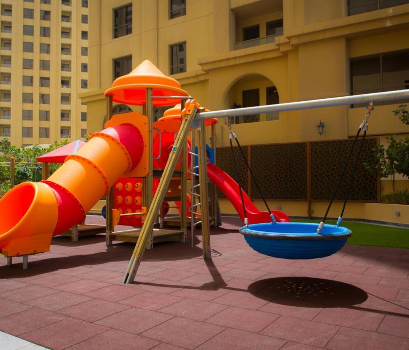 JA Ocean View Hotel - játszótér (Dubai utazások)