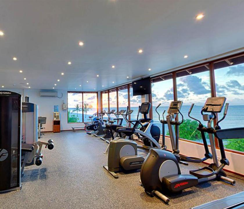 Kuredu Island Resort & Spa - fitness terem (Maldív-szigeteki utazások)