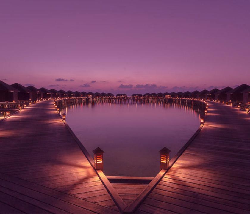 Lily Beach Resort & Spa - vízi villák (Maldív-szigeteki utazások)