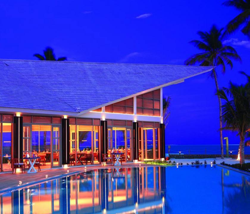 OBLU SELECT at Sangeli by Atmosphere - étterem este (Maldív-szigeteki utazások)