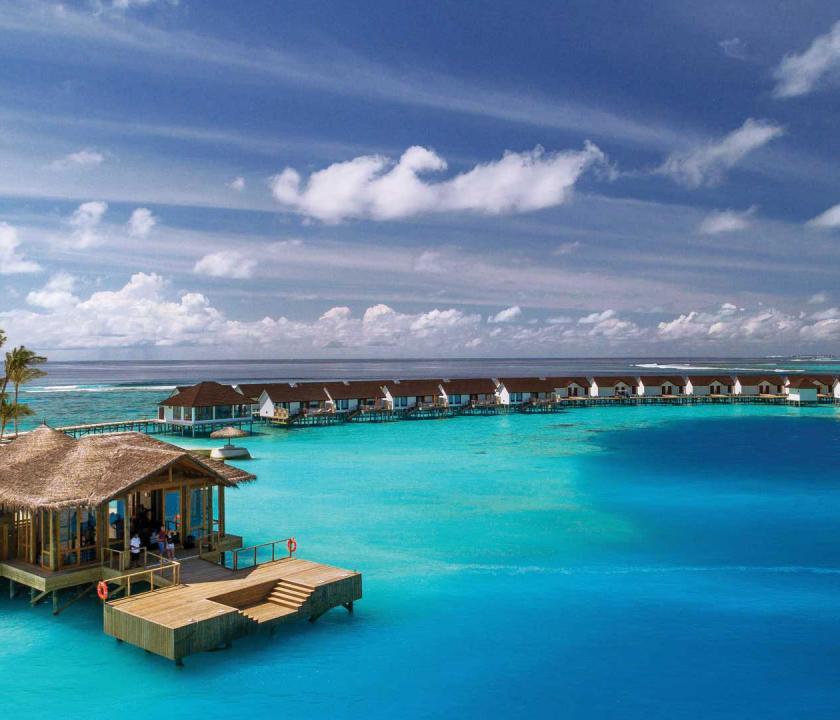 OBLU SELECT at Sangeli by Atmosphere - vízi villák (Maldív-szigeteki utazások)