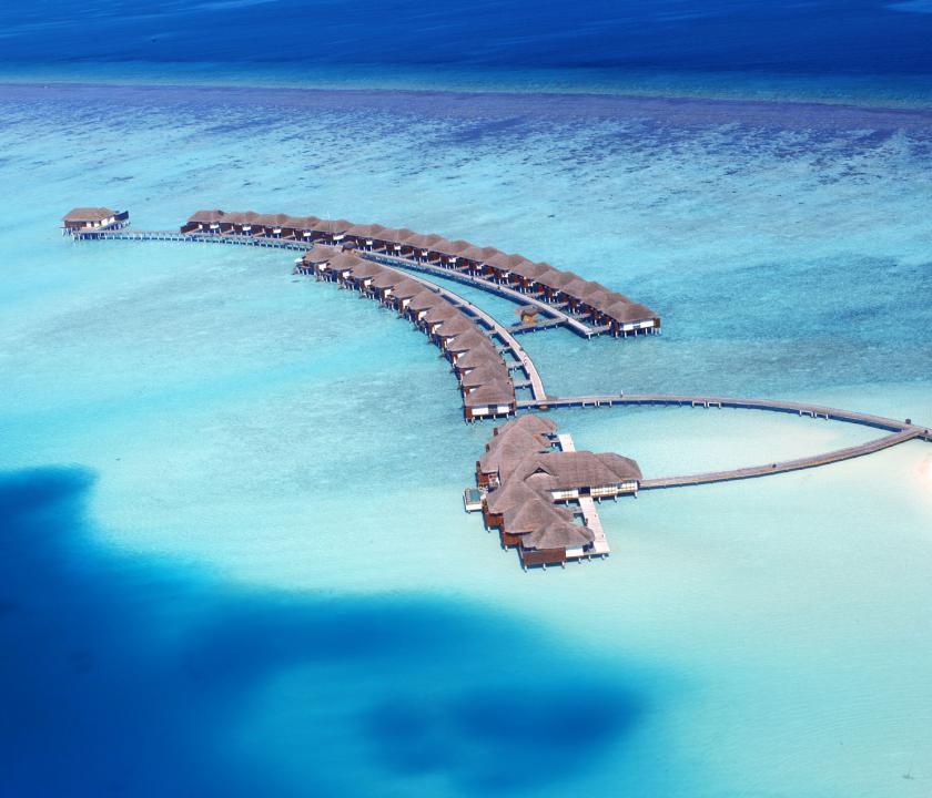 Velassaru Maldives - a villák kivülről (Maldív-szigeteki utazások)