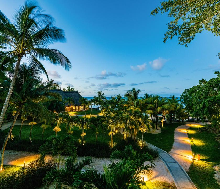 Canonnier Beachcomber Golf Resort & Spa - kert (Mauritiusi utazások)