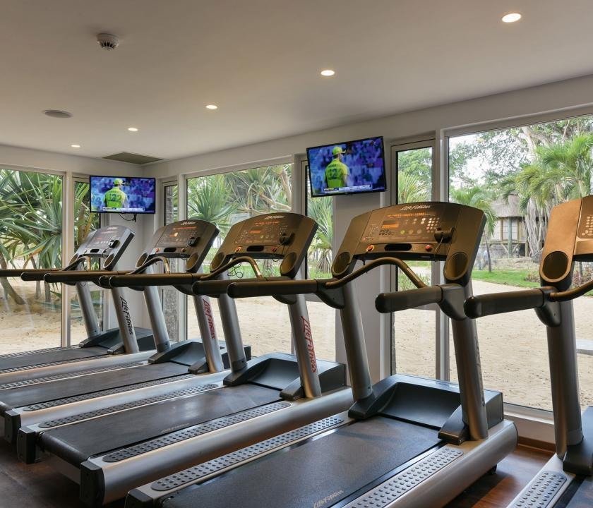 Canonnier Beachcomber Golf Resort & Spa - fitness terem (Mauritiusi utazások)