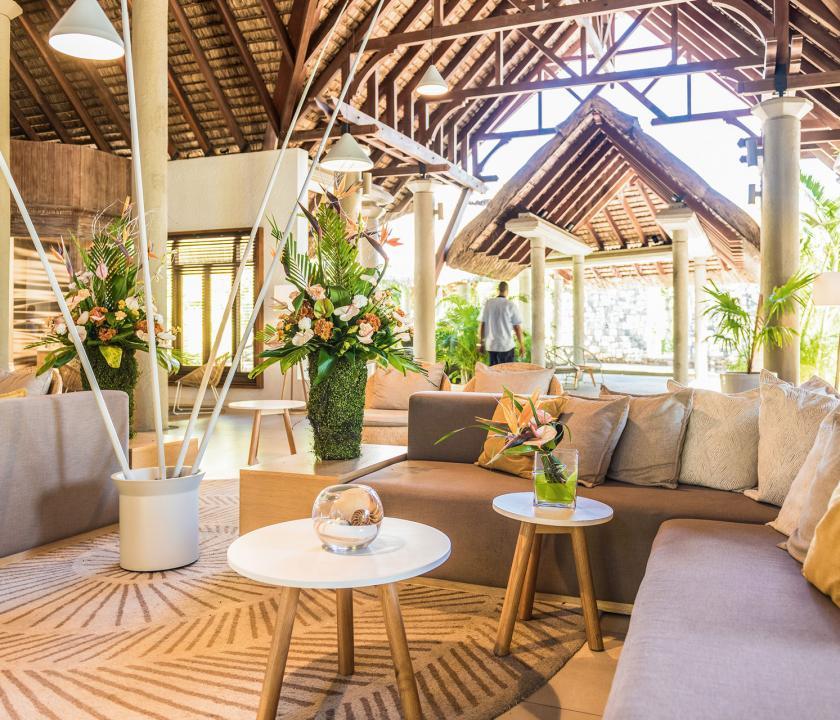 Canonnier Beachcomber Golf Resort & Spa - recepció (Mauritiusi utazások)