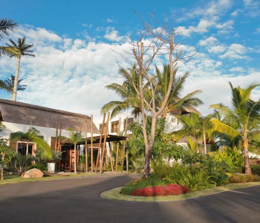 Laguna Beach Hotel & Spa - a hotel kivülről (Mauritiusi utazások)