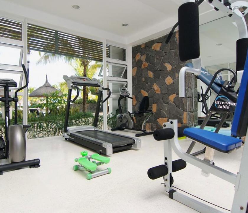 Laguna Beach Hotel & Spa - fitness terem (Mauritiusi utazások)