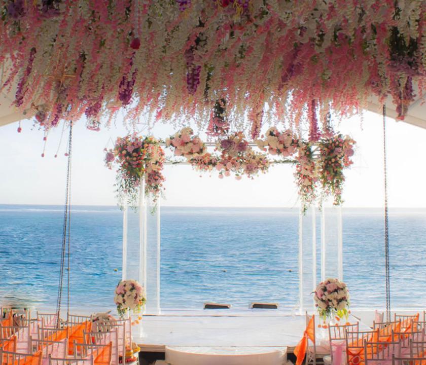Maritim Crystals Beach Hotel - esküvő (Mauritiusi utazások)