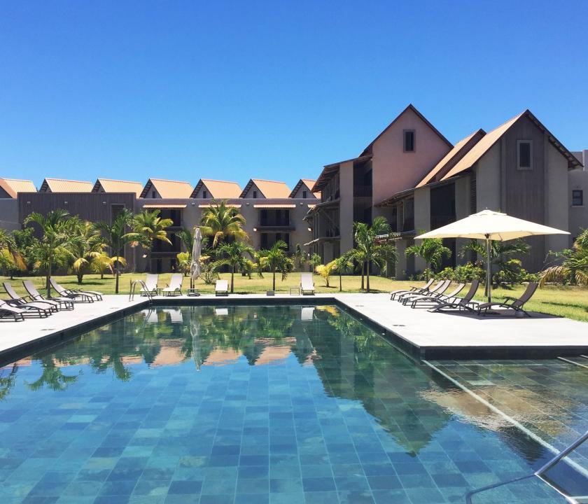 Maritim Crystals Beach Hotel - a hotel kivülről (Mauritiusi utazások)