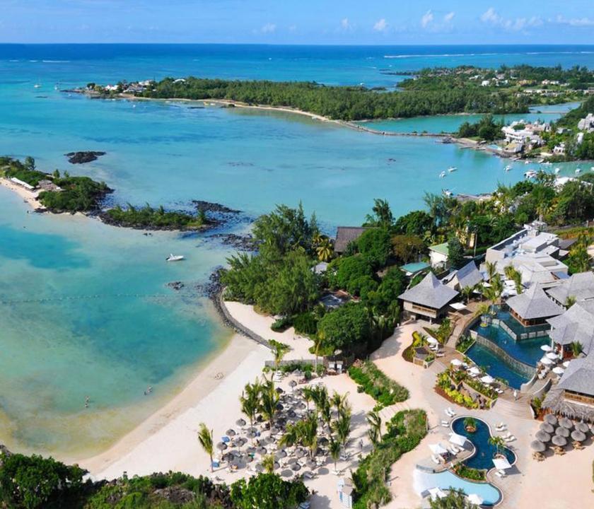 Zilwa Attitude - a hotel felülről (Mauritiusi utazások)