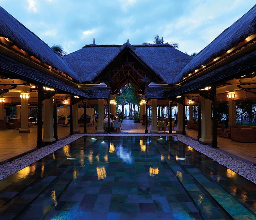 Paradis Beachcomber Golf Resort & Spa - recepció (Mauritiusi utazások)