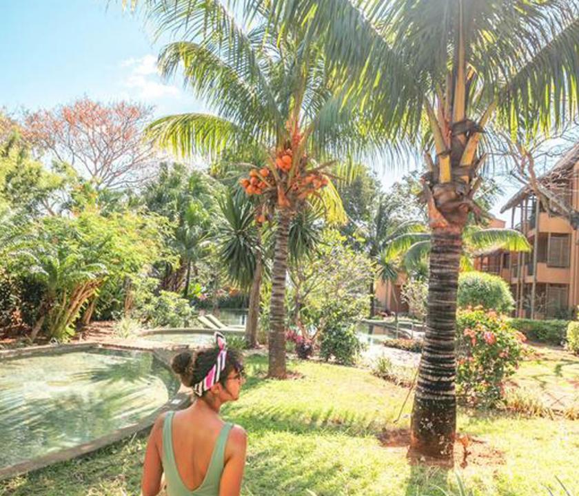 Tamarina Golf & Spa Boutique Hotel - kert (Mauritiusi utazások)