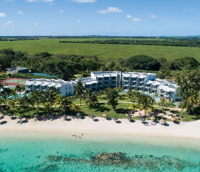Victoria Beachcomber Resort & Spa - a hotel felülről (Mauritiusi utazások)