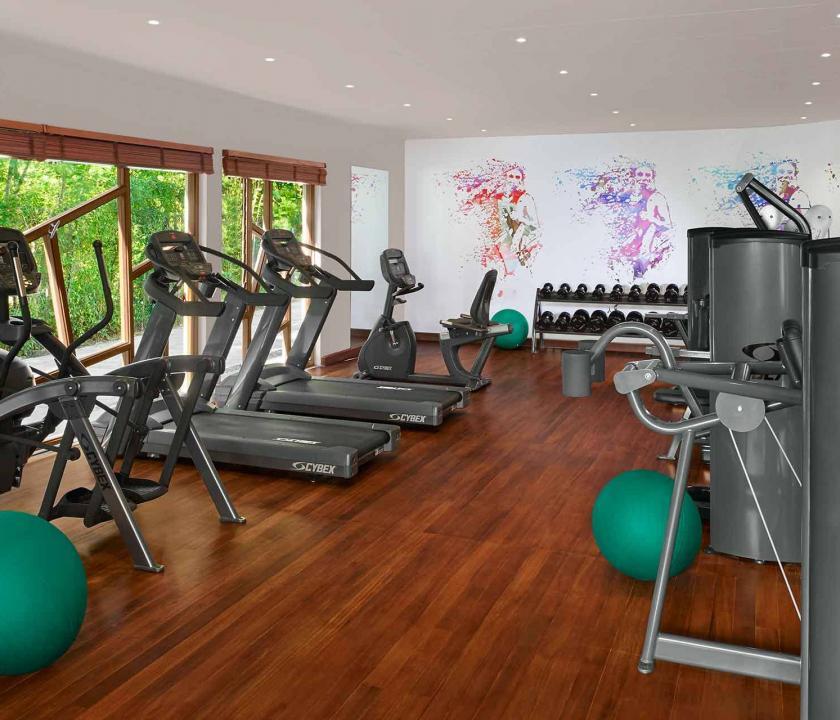 Avani Seychelles Barbarons Resort & Spa - fitnesz terem (Seychelle szigeteki utazások)