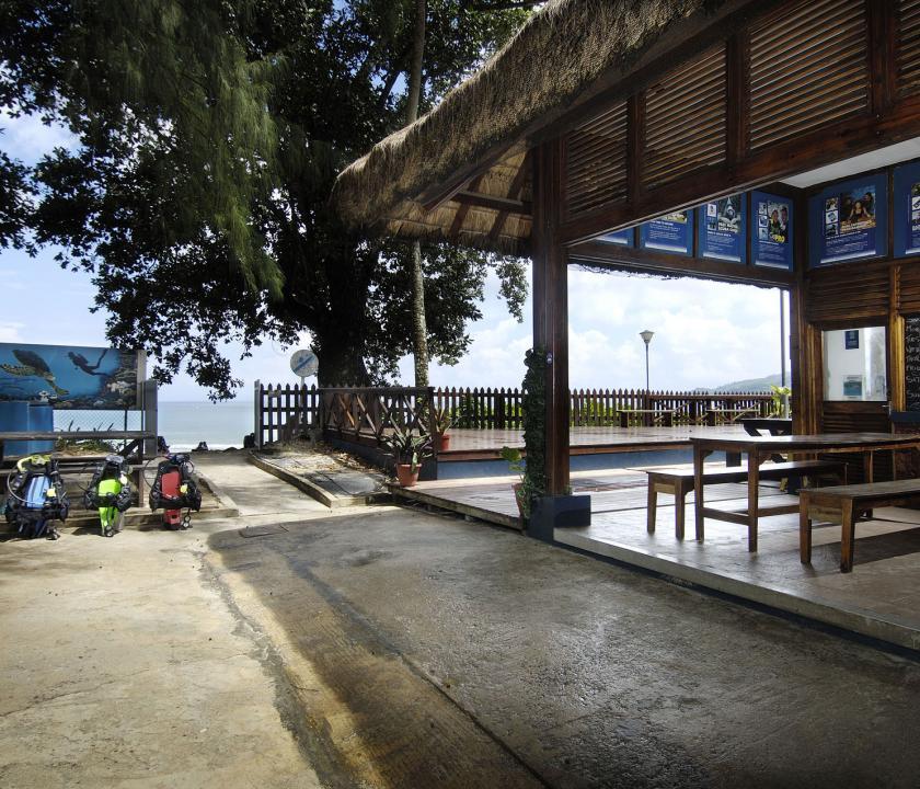 Berjaya Beau Vallon Bay Resort & Casino - búvár központ (Seychelle szigeteki utazások)