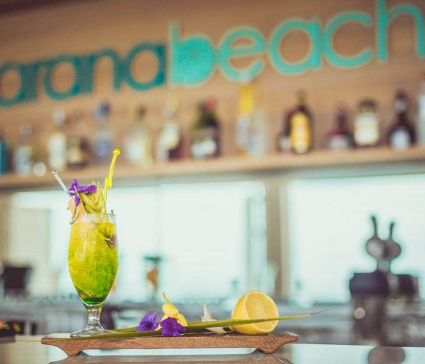 Carana Beach Hotel - bár (Seychelle szigeteki utazások)